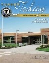 Turner Today cover of the new Oak Grove Elementary building