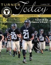 Turner Today cover of football team running onto the field