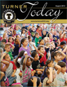 Turner Today cover of students at an assembly