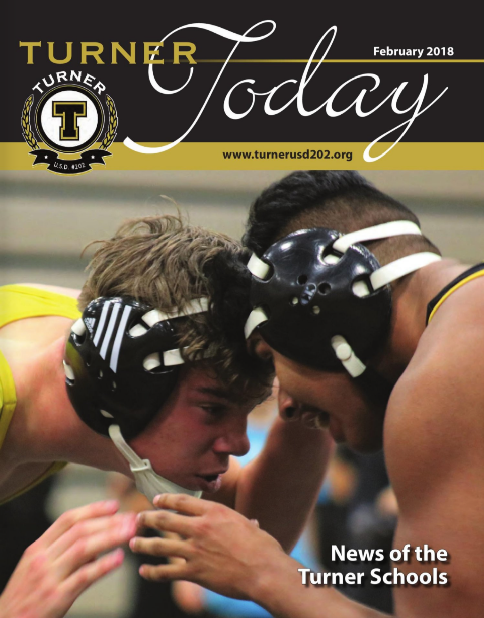 Turner Today cover of two wrestlers