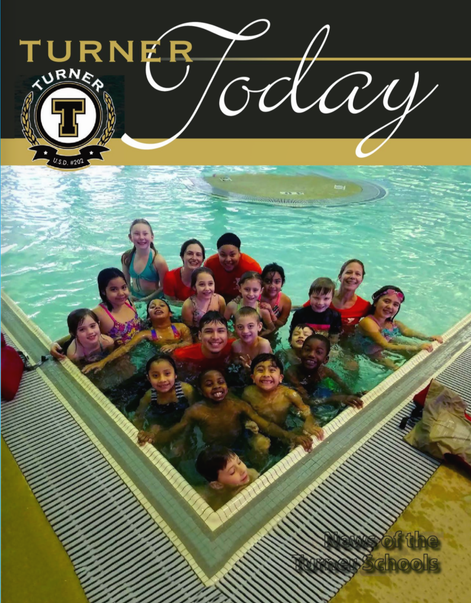 Turner Today photo of students in swimming lessons