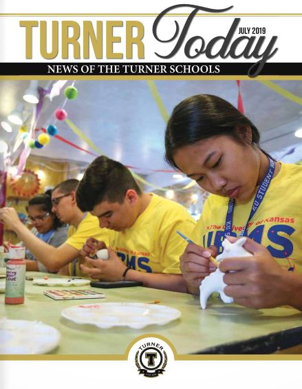Turner Today cover of students painting