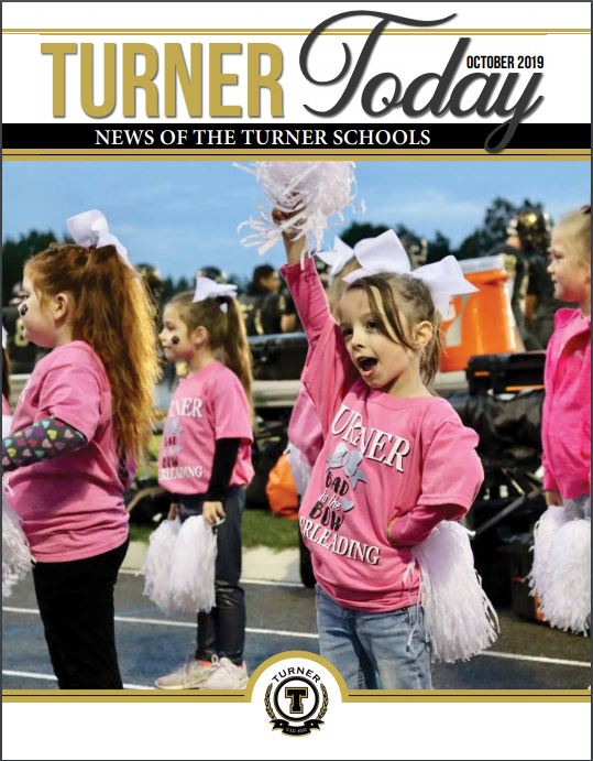 Turner Today cover of Lil' Leaders Cheerleaders
